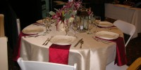 Indoor Wedding Linens