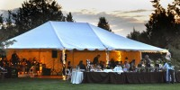 Outdoor Tent Cascade Photography