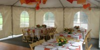 Outdoor Tent Central Oregon Weddings