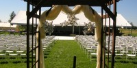 Wedding Ceremony White Poly Folding Chairs